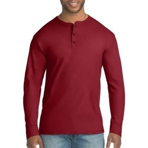 X-TEMP 3XL NWT BURGANDY LONG SLEEVE